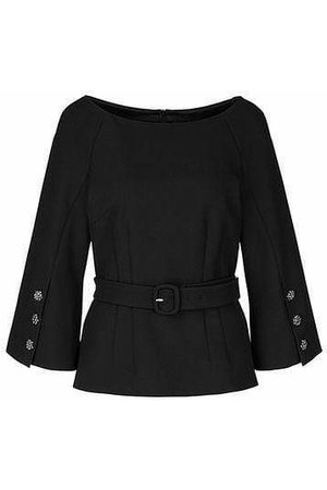 Marc Cain Collections Blouse with Glittering Buttons 900 PC 51.25 W71