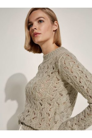 Caractere Jumper Perforated Lurex M203D000699N
