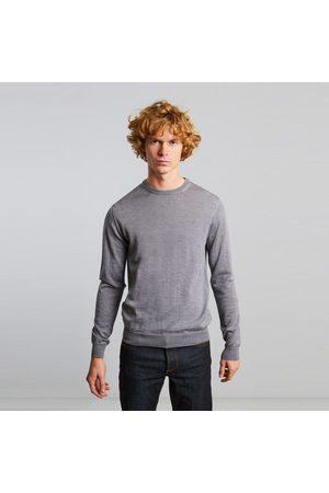 L'exception Paris Men Jumpers - Merino wool jumper Gris clair