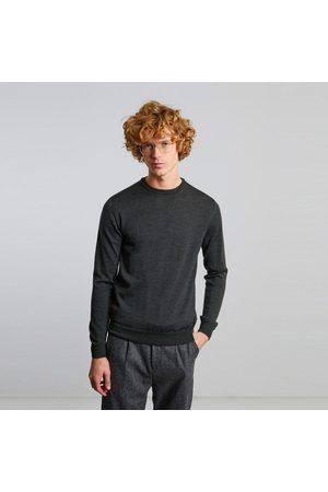 L'Exception Paris Men Jumpers - Merino wool jumper Khaki