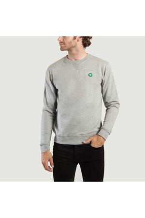 WoodWood Tye Sweatshirt Grey Melange