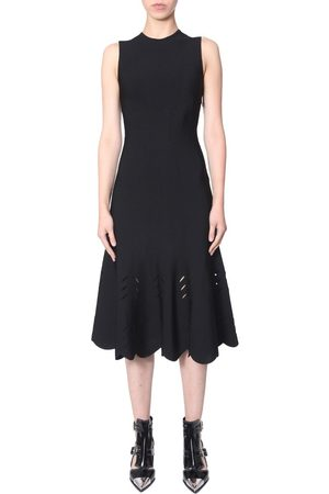 Alexander McQueen WOMEN'S 585226Q1AE61000 VISCOSE DRESS