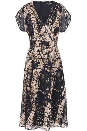 Religion Women Printed Dresses - Hide Print Dress