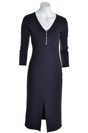 Patrizia Pepe Women Dresses - Pepe Dress Zip Front Deep Navy