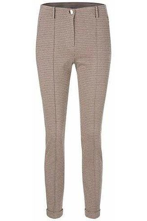 Marc Cain Collections Elegant Trousers with Pressed Crease PC 81.32 J41