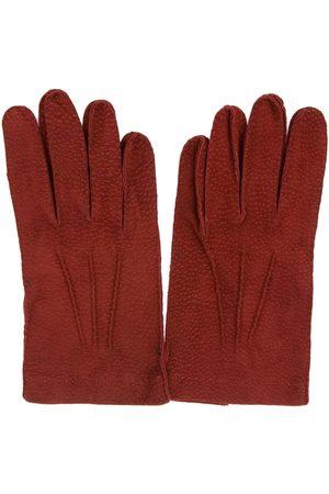 Merola Men Gloves - MEN'S U47ROSSO LEATHER GLOVES