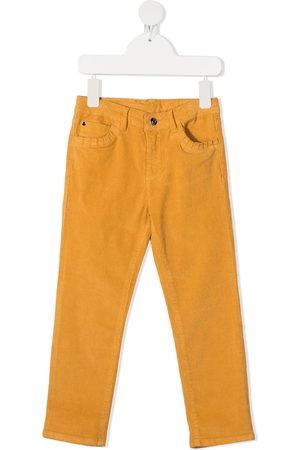 KNOT Straight-leg corduroy trousers
