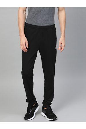 Alcis Men Black Slim Fit Solid Joggers