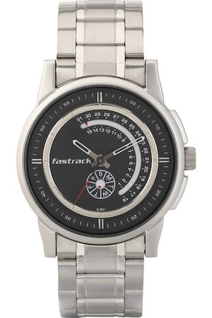 Fastrack Men Black Analogue Watch 3215SM03