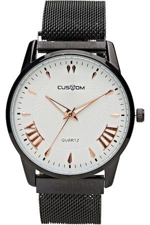 CUSTOM Men White Analogue Watch 8907829043244