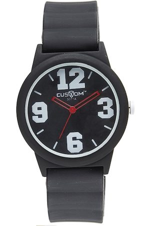 CUSTOM Men Black Analogue Watch 8907829042827