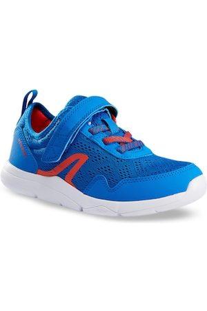 Newfeel By Decathlon Unisex Kids Blue Textile Walking Shoes