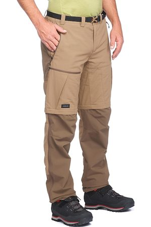 FORCLAZ By Decathlon Men Brown & Khaki Straight Fit Solid Chinos