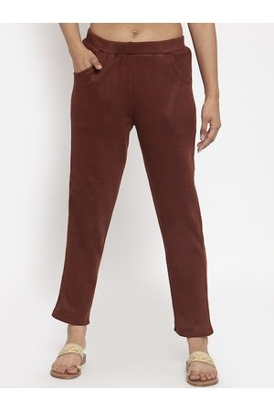 Tag 7 Women Brown Solid Leggings