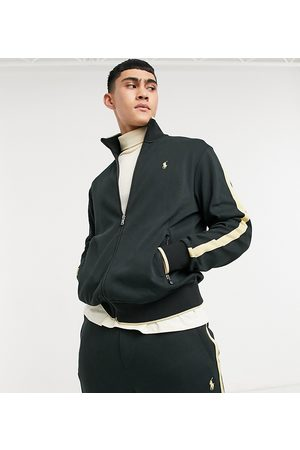 Polo Ralph Lauren X ASOS exclusive collab zip thru track jacket with gold tipping and logo