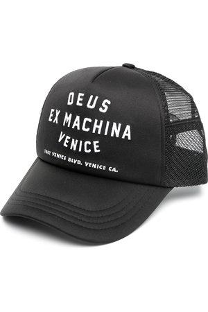 Deus Ex Machina Men Hats - Venice address-embroidered baseball cap