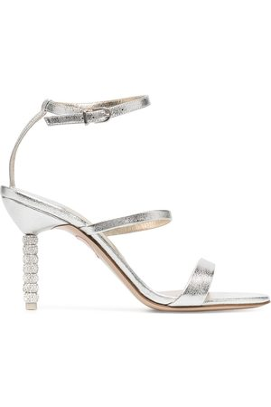 SOPHIA WEBSTER Crystal embellished heel sandals