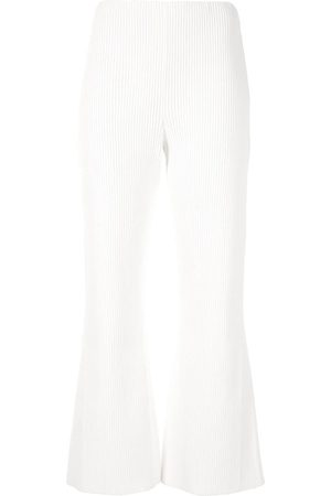 Proenza Schouler Women Wide Leg Trousers - Chunky Rib Coulottes