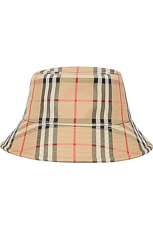 Burberry Check Bucket Hat in Archive
