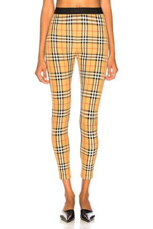Burberry Belvoir Legging in Antique Check