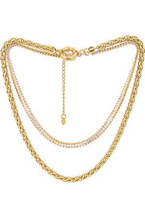 Jordan Road Jewelry Women Necklaces - For FWRD St. Tropez Necklace Stack in & Crystal