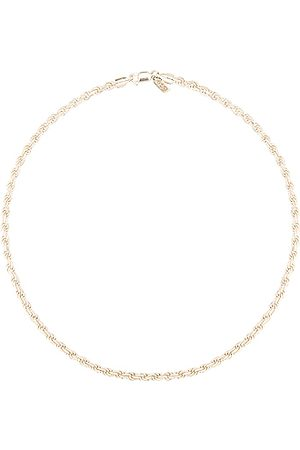 LOREN STEWART Industrial Rope Chain Necklace in Sterling