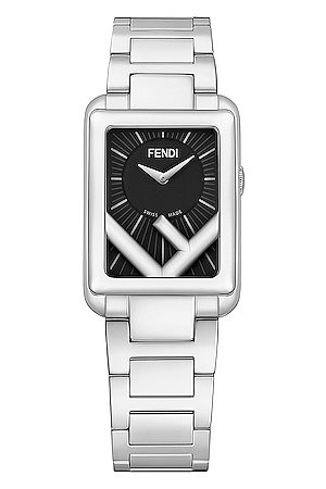 Fendi Runaway Rectangle Watch in