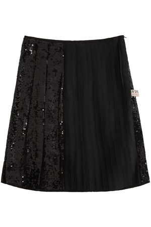 Nº21 Girls Skirts - Sequins Pleated Skirt