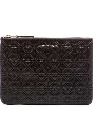 Comme des Garçons Star Embossed Pouch in