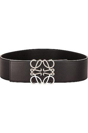Loewe Anagram Wide Belt in & Palladium