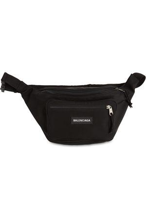 Balenciaga Explorer Logo Nylon Belt Bag