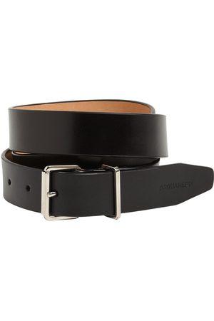 Dsquared2 Men Belts - 3cm Leather Belt