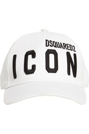 Dsquared2 Icon Embroidery Cotton Gabardine Cap