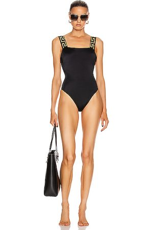 VERSACE Women Swimsuits - Simple One Piece Swimsuit in