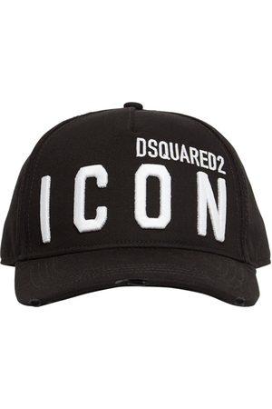 Dsquared2 Icon Embroidery Cotton Gabardine Cap