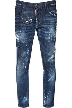 Dsquared2 16cm Skater Cotton Denim Jeans
