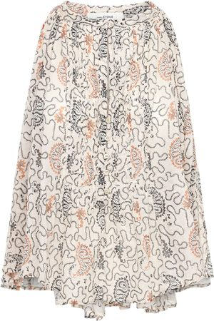 Isabel Marant Women Tops - Abiti Printed Cotton Top