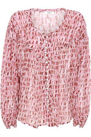 Isabel Marant Women Shirts - Sorionea Chiffon Shirt