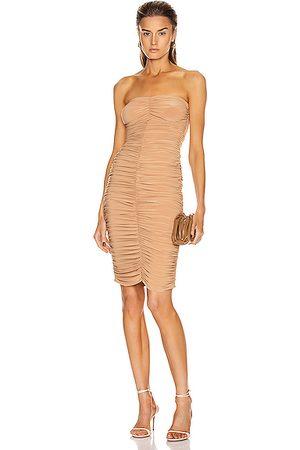 Norma Kamali Women Midi Dresses - Slinky Dress in Nude