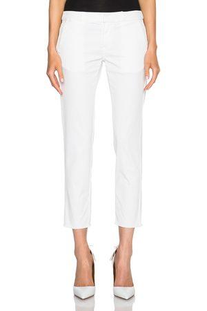 NILI LOTAN Women Trousers - East Hampton Pants in Eggshell