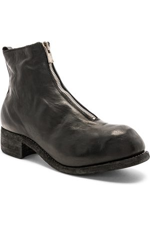 GUIDI Soft Horse Full Grain Front Zip Boots in