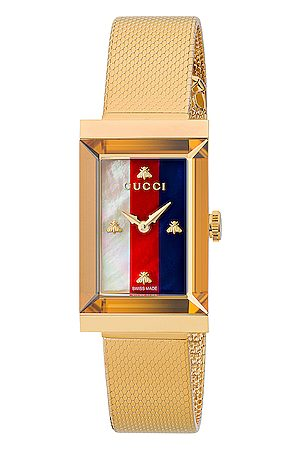 Gucci Mesh Bracelet Watch in