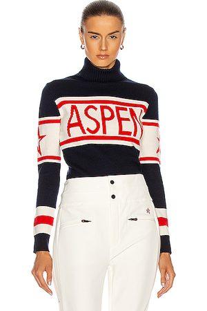 Perfect Moment Schild Aspen Sweater in Navy