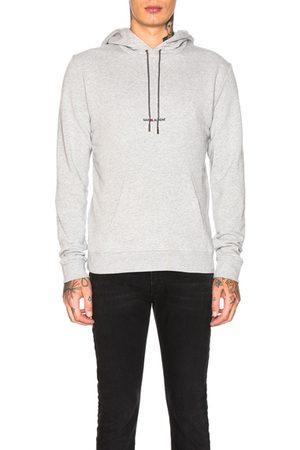 Saint Laurent Hoodie in Grey