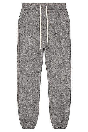JOHN ELLIOTT Men Sports Trousers - LA Sweatpants in Dark Grey