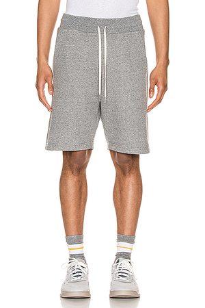 JOHN ELLIOTT Crimson Shorts in Dark Grey