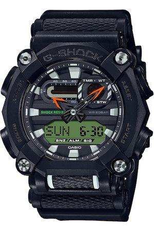 Casio Men Black & Green Digital Watch