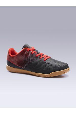 IMVISO By Decathlon Unisex Kids Black PU Training or Gym Shoes
