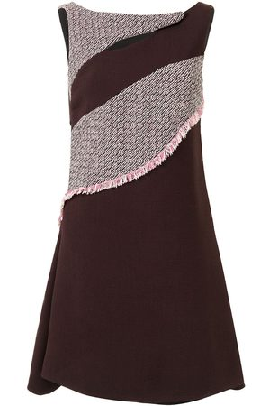 Dior Pre-owned panelled flared dress