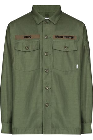 Wtaps Military-style long-sleeve shirt